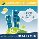 Parents après la séparation des temps d'information et d'échanges